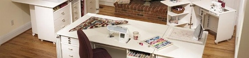 Sewing desk and tables