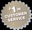 #1 in Customer Service